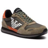Sneakersy EMPORIO ARMANI - X4X215 XL200 P037 Sage/Mango/Sage