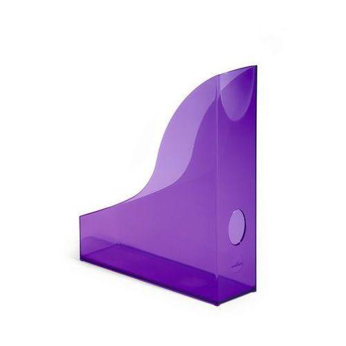 Durable Pojemnik na dokumenty basic 1701712 przezroczysty fioletowy