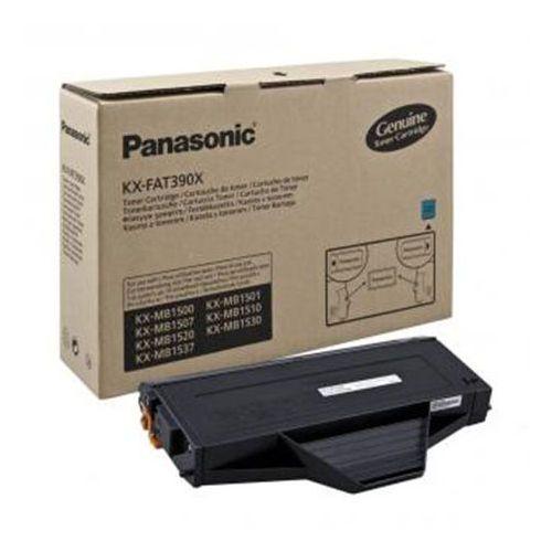 Toner Panasonic KX-FAT390X Black do faxów (Oryginalny) [1.5k]