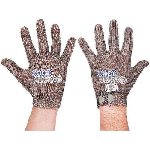 Rękawica ochronna ECOMESH, nierdzewna 5-palcowa, brązowa, rozmiar 5, size XXS, HEM49 FM