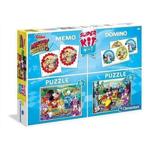 Superkit 2x30 elementów + Memo + Domino Linia Specjalna Miki i Raźni Rajdowcy