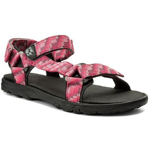 Sandały JACK WOLFSKIN - Seven Seas 2 Sandal G 4029961 D Tropic Pink, w 4 rozmiarach