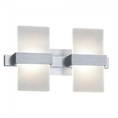 Trio Platon Lampa ścienna LED Aluminium, 2-punktowe - Nowoczesny - Obszar wewnętrzny - Platon - Czas dostawy: od 2-4 dni roboczych