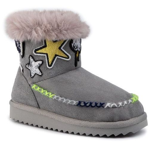 Pepe jeans Buty - angel patches pgs50152 grey 945
