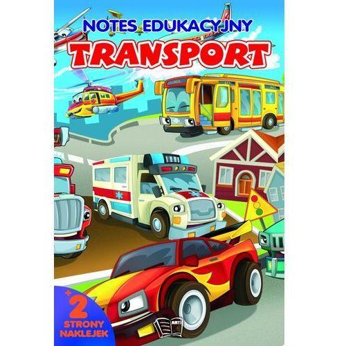 Arti Notes transport. łamigłówki z naklejkami