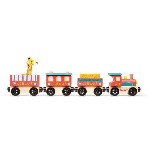 Pociąg drewniany Janod - Cyrk J08530 (3700217385309)