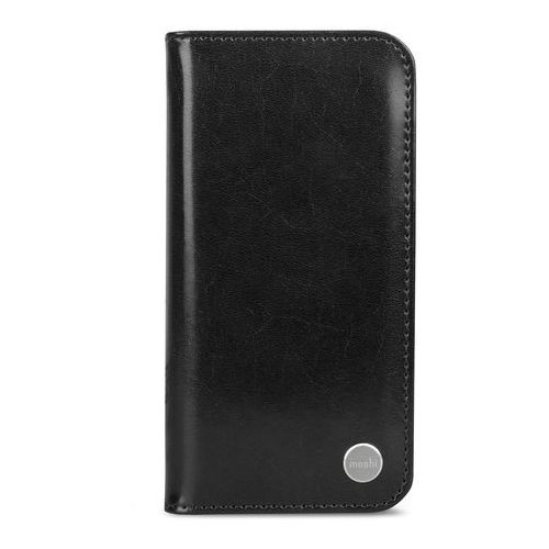 Moshi Overture - Etui iPhone X z kieszeniami na karty + stand up (Charcoal Black) (4713057252792)