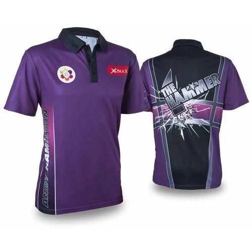 XQmax Darts Replika koszulki meczowej Andy'ego Hamiltona, XXXL (8719407011688)
