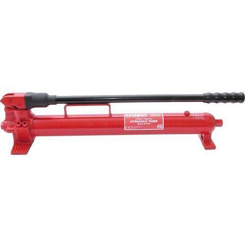 """Pompa hydrauliczna ręczna dwubiegowa 700 bar 2,5l 2500cm3 3/8"""" NPT Kennedy KEN5038960K KEN-503-8960K (5036140023048)"""