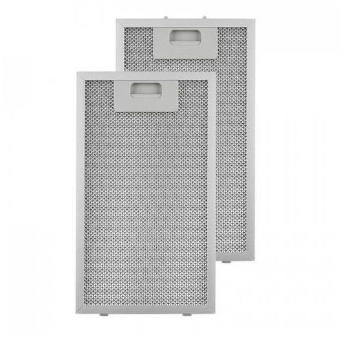Klarstein filtr aluminiowy przeciwtłuszczowy 18,5 x 31,8cm fitr wymienny 2 szt. wyposażenie