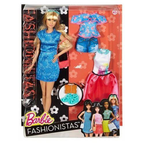BARBIE Lalka i ubranka Niebieska sukienka