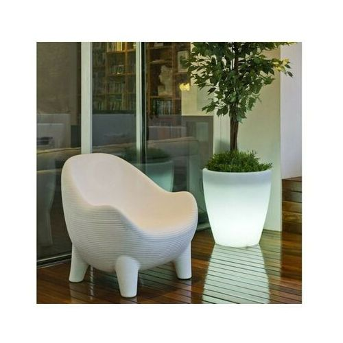 New garden fotel aruba solar biały - led marki Sofa.pl