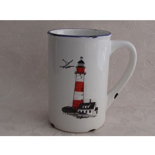 Gadget master Porcelanowy kubek retro - light house - light house