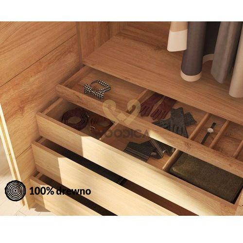 Wsad do szafy dębowej modern duży 100cm marki Woodica