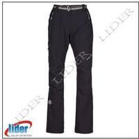 Spodnie trekkingowe damskie MILO JUULY LADY - black, kolor czarny