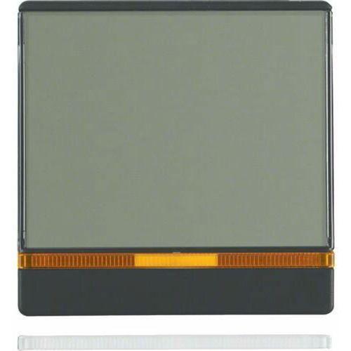 q.1/q.3 klawisz z 2 dołączonymi soczewkami i dużym polem opisowym, antracyt, aksamit 16966086 marki Berker