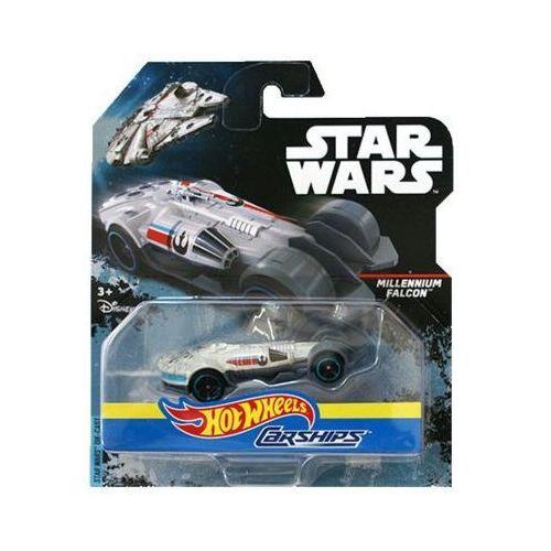 star wars autostatki kosmiczne millennium falcon marki Hot wheels