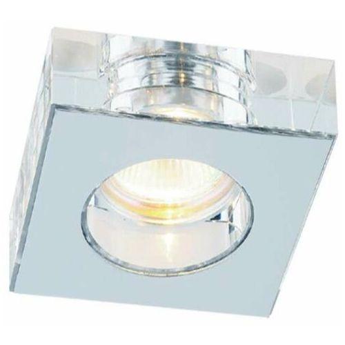 LAMPA sufitowa Astro cromo Orlicki Design kwadratowa OPRAWA natynkowa szklana glamour chrom
