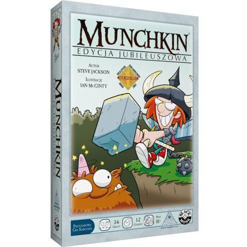 Black monk Munchkin edycja jubileuszowa (5901549119633)