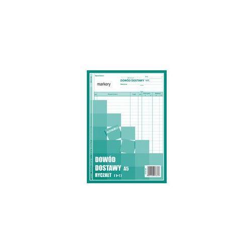 Emeko Druk dowód dostawy ryczałt ddr a5 1+1 zielony (5908309978653)