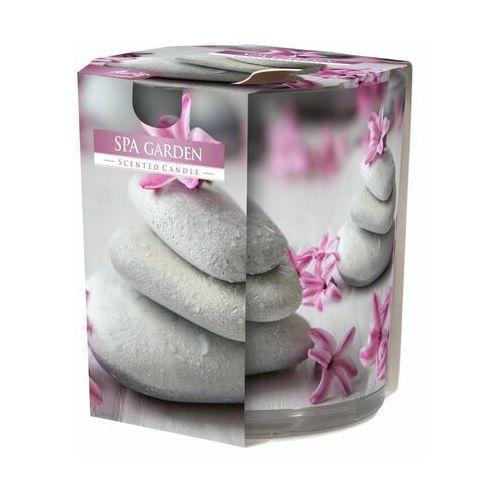 Świeca zapachowa w szkle SPA GARDEN kwiatowo-owocowa (5906927024509)