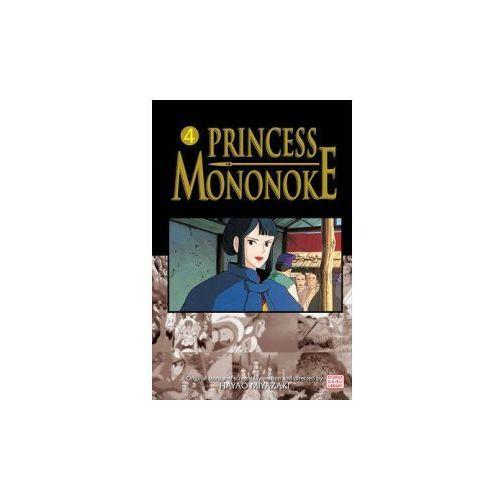 Princess Mononoke Film Comic, Vol. 4 (9781421506005)