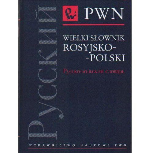 Wielki Słownik Rosyjsko-Polski (ilość stron 940)