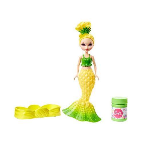 Barbie dvm97/dvm99 dreamtopia bąbelkowa syrenka żółta 3+