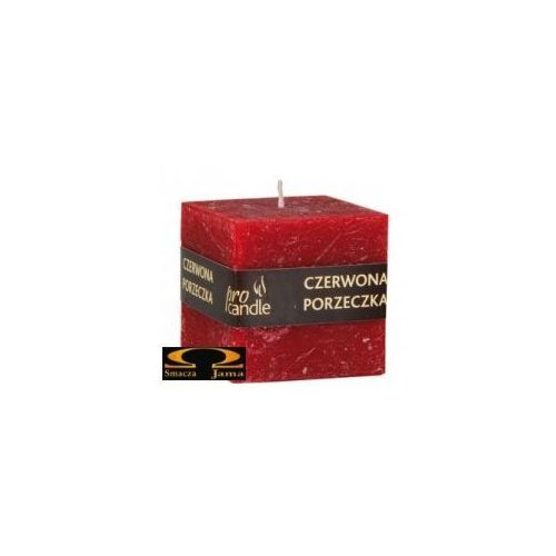 czerwona porzeczka, świeczka zapachowa marki Pro candle