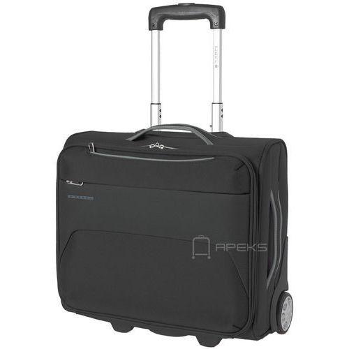 """Gabol zambia mała walizka kabinowa 20/44 cm / pilotka na laptopa 15,6"""" / czarna - black"""