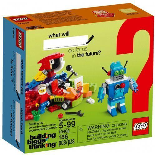 Klocki brand campaign products wyprawa w przyszłość marki Lego