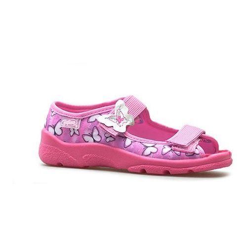 Befado Sandały dziecięce 969x134 różowe