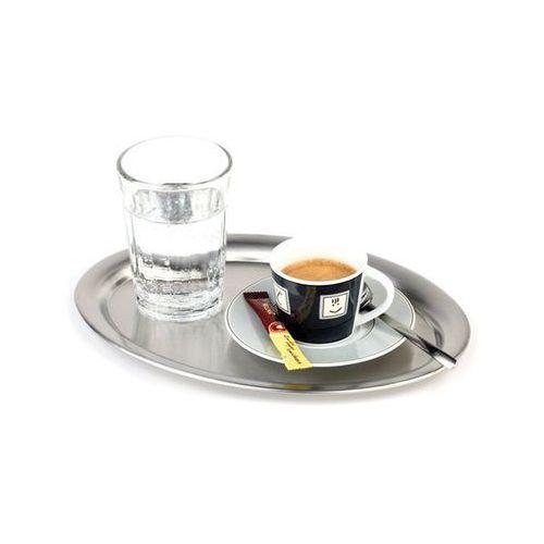 Taca owalna ze stali nierdzewnej do serwowania kawy | różne wymiary marki Aps
