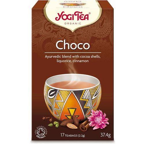Herbata czekoladowa bio (yogi tea) 17 saszetek po 2g marki Yogi tea, usa