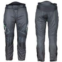 Spodnie motocyklowe wodoodporne unisex mihos new, czarny, l marki W-tec