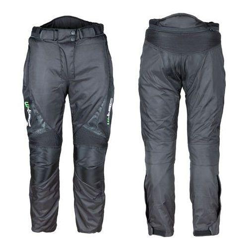 Spodnie motocyklowe wodoodporne unisex mihos new, czarny, 3xl marki W-tec