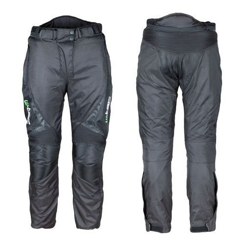 Spodnie motocyklowe wodoodporne unisex W-TEC Mihos NEW, Czarny, 3XL (8596084065216)