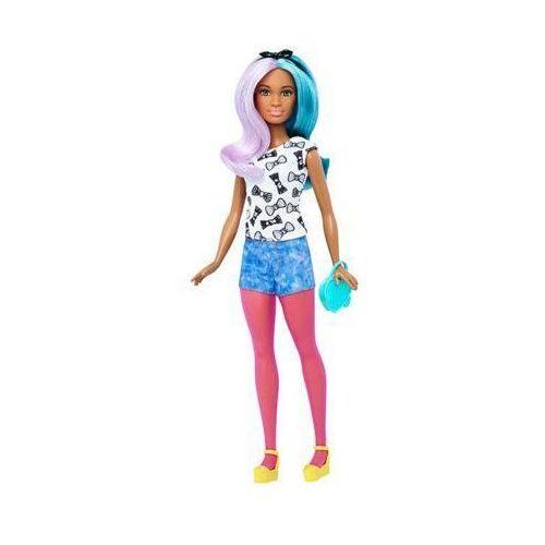 dtf05 fashionistas 42 blue violet & fashions petite lalka z ubrankami 3+ marki Barbie