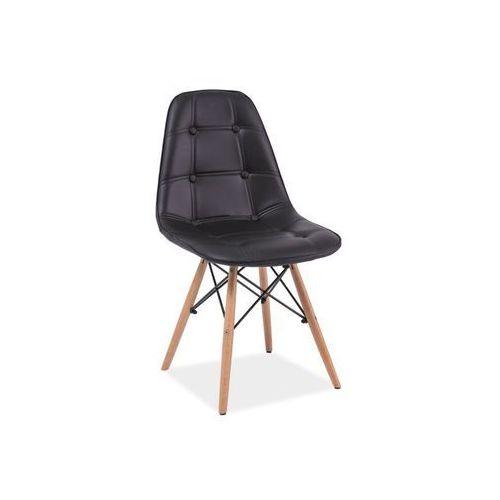 Krzesło Axel Czarny, kolor czarny