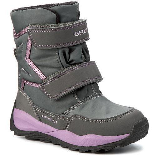 Śniegowce GEOX - J Orizont B G. Abx A J742BA 0FU50 C1006 Grey