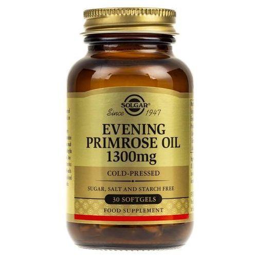 Kapsułki Solgar Evening Primrose Oil (Olej z wiesiołka) 1300 mg - 30 kapsułek