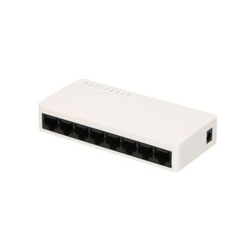 otto 8-portowy switch fast ethernet 100mb/s desktopowy marki Extralink