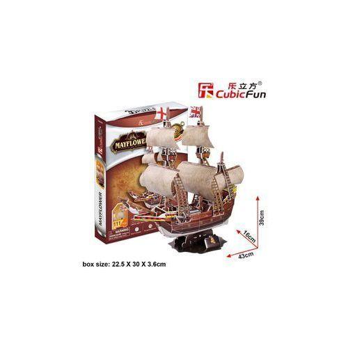 PUZZLE 3D Żaglowiec Mayflower
