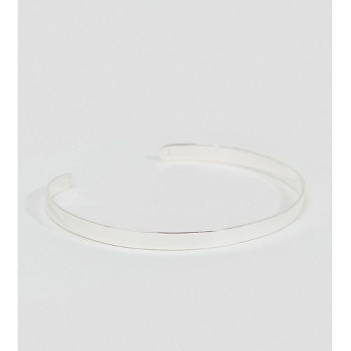 DesignB cuff bangle bracelet in sterling silver exclusive to asos - Silver