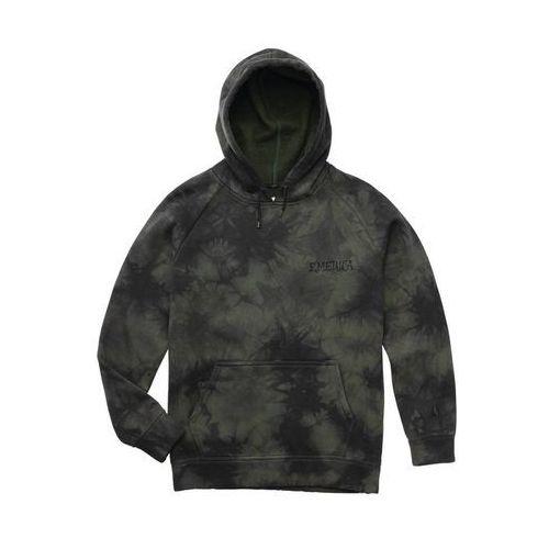 bluza EMERICA - Pressure Hooded Fleece Black/Dark Grey (560) rozmiar: L