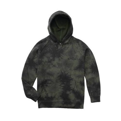 bluza EMERICA - Pressure Hooded Fleece Black/Dark Grey (560) rozmiar: XL, 1 rozmiar