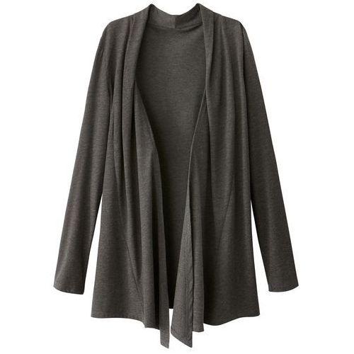 Rozpinany sweter dzianinowy, długie rękawy, rozpinany
