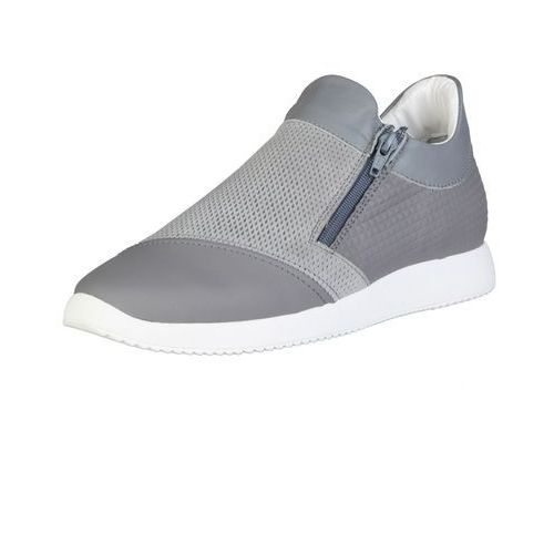 Męskie buty sneakersy giulio szare, Made in italia
