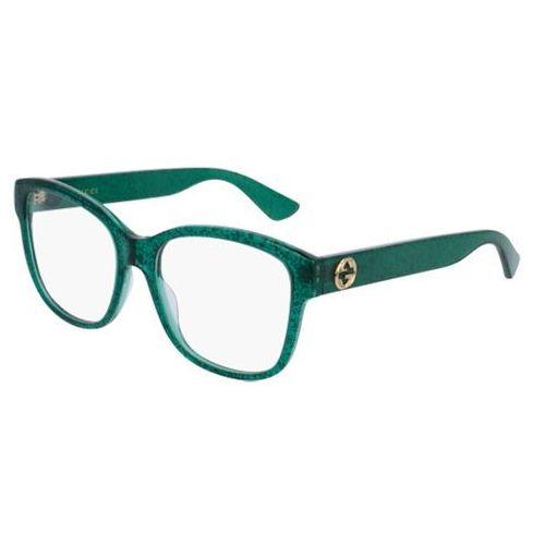 Okulary korekcyjne gg0038o 005 marki Gucci