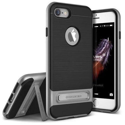 Etui VRS DESIGN High Pro Shield do iPhone 7 Srebrny Stalowy, kup u jednego z partnerów